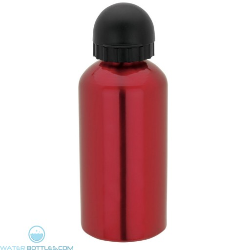 Domed Flask   16.9 oz - Red