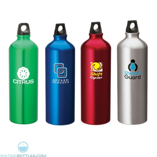 Printed Flask with Twist Top   33.8 oz