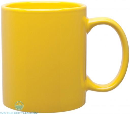 11 oz c-handle mugs-glossy-yellow