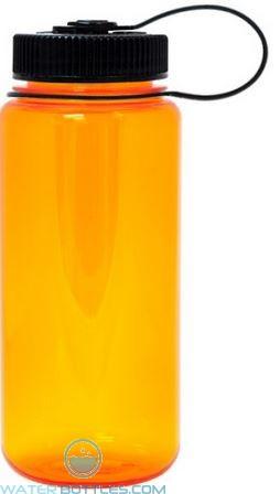 Nalgene Wide Mouth Water Bottles | 16 oz - Orange