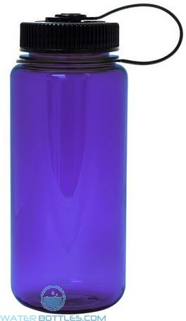 Nalgene Wide Mouth Water Bottles | 16 oz - Purple