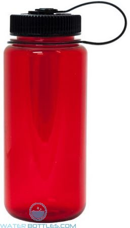 Nalgene Wide Mouth Water Bottles | 16 oz - Red