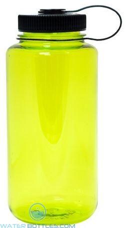 Nalgene Wide Mouth Water Bottles | 32 oz - Neon Green