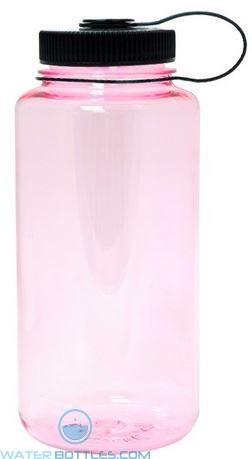 Nalgene Wide Mouth Water Bottles | 32 oz - Pearl Pink