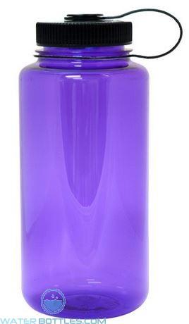 Nalgene Wide Mouth Water Bottles   32 oz - Purple