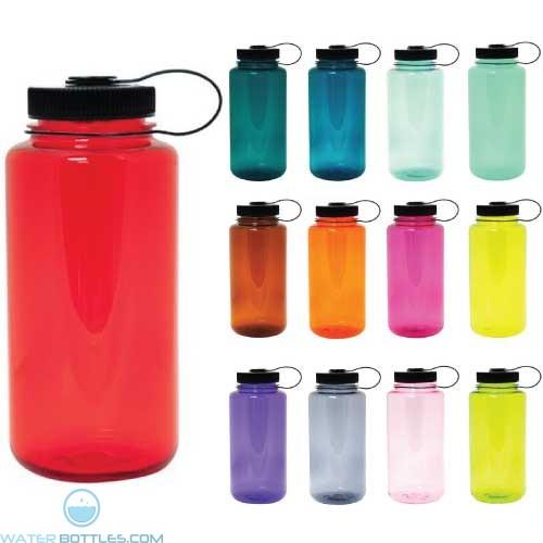 Personalized Logo Water Bottles - Nalgene Wide Mouth Water Bottle | 32 oz