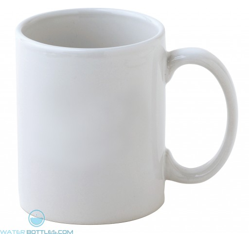 Cafe Mugs | 11 oz - White