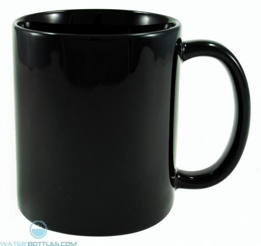Cafe Mugs | 11 oz - Black