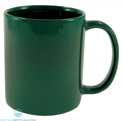 Cafe Mugs | 11 oz - Green
