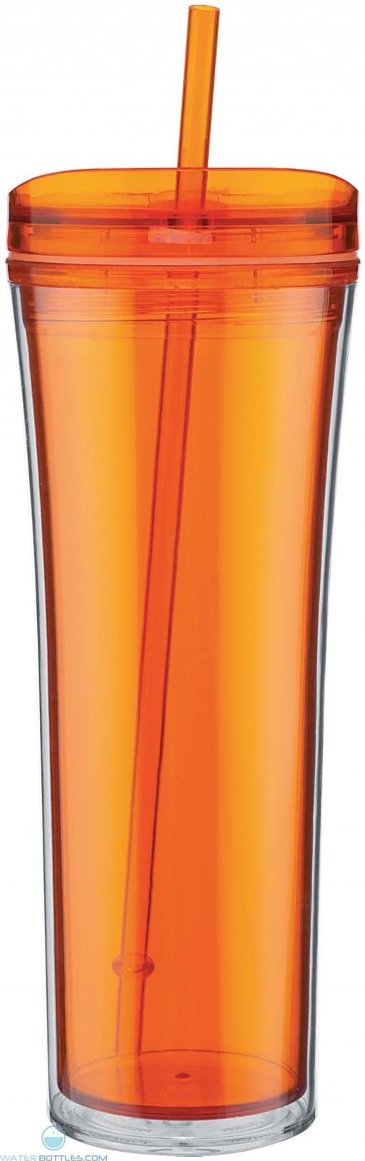 Boost Acrylic Tumblers   20 oz - Tangerine
