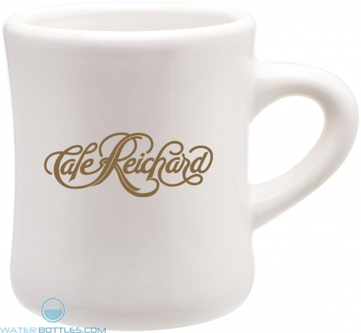 Custom Coffee Mugs - Ceramic Diner Mug | 10 oz