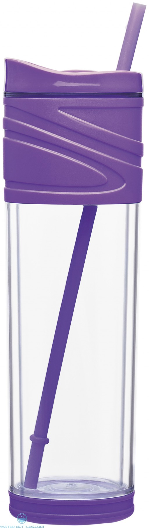 Purple Melrose Water Bottles | 16 oz