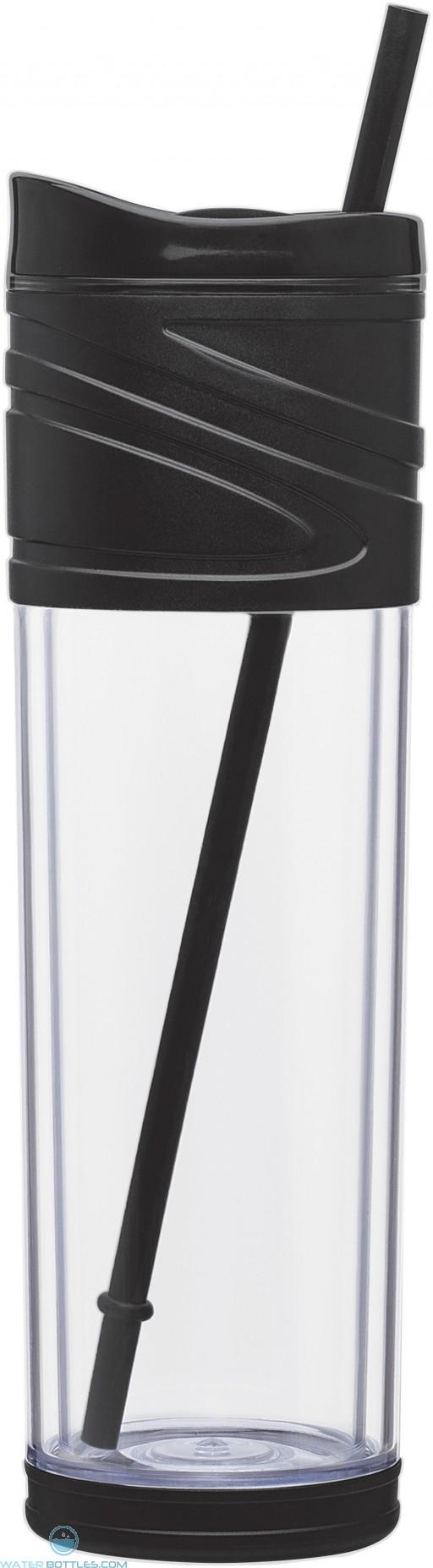 Melrose Water Bottles   16 oz - Black