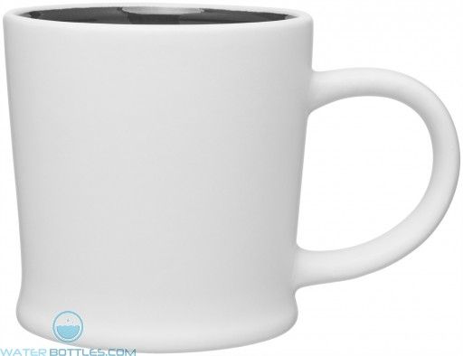 12 oz Matte White Turno Mug_Storm Gray Interior_Blank