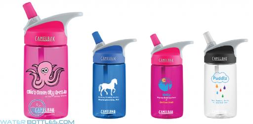 Personalized Water Bottles - Camelbak Eddy .4L Kids Water Bottles| 12 oz