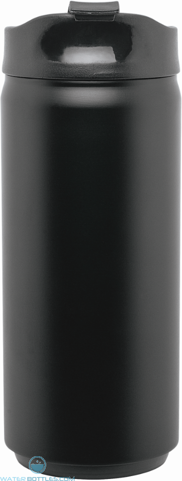 Black Stainless Steel Thermal Can | 12 oz - Matte Black