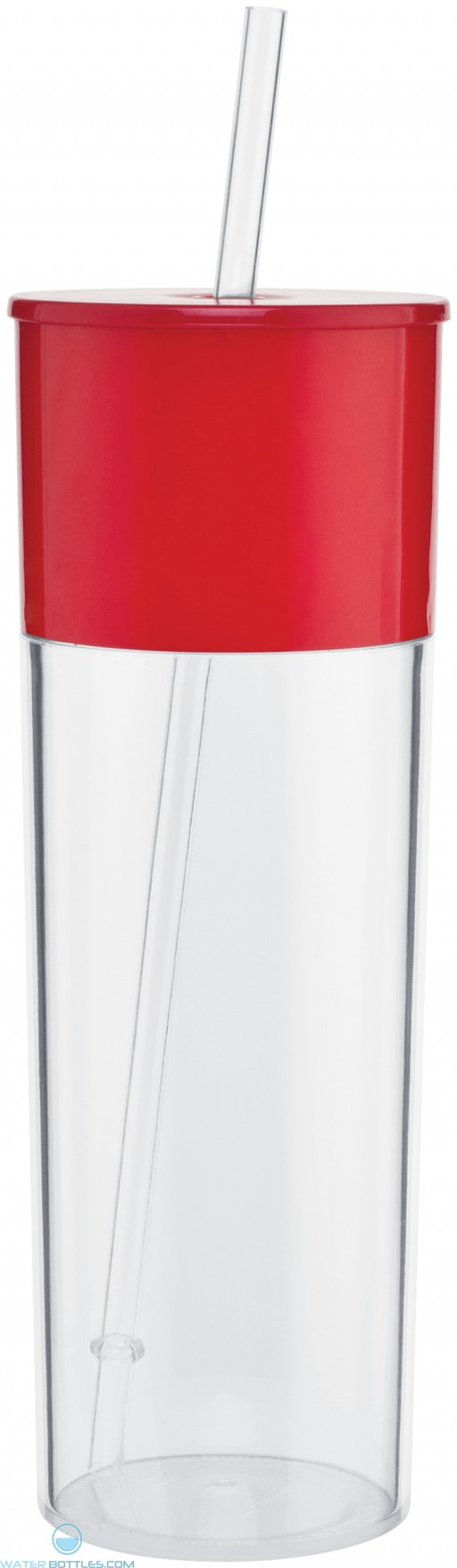 Edge Acrylic Tumblers | 22 oz - Red