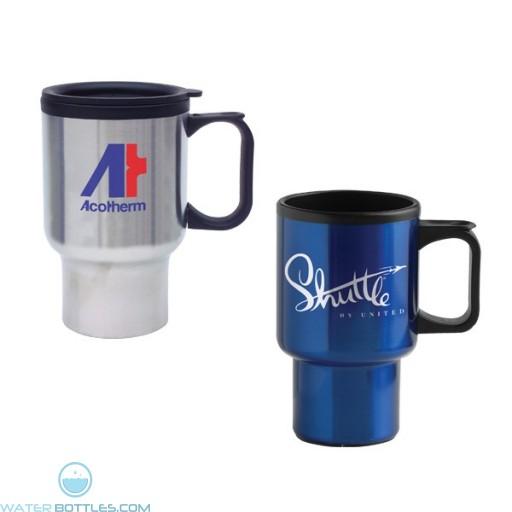 Promotional Mugs - Economy Stainless Steel Mug   14 oz