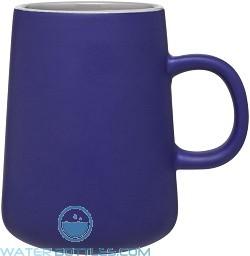 15 oz Inverti Ceramic Coffee Mugs-Blue