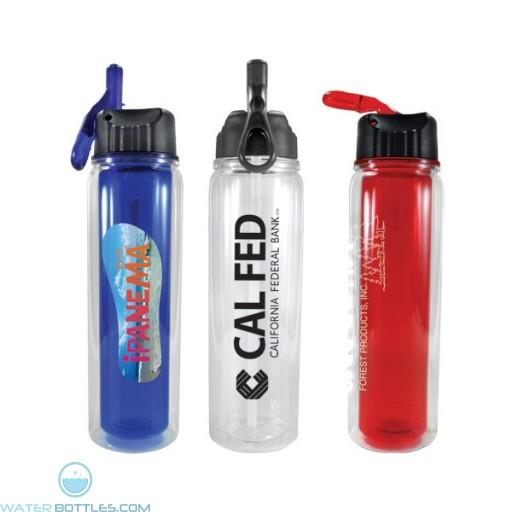 Personalized Water Bottles - Endurance Tritan Logo Bottles   17 oz