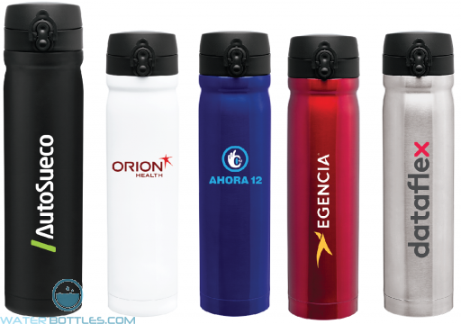 Premium Water Bottles - Vessel Stainless Steel Water Bottles   15 oz
