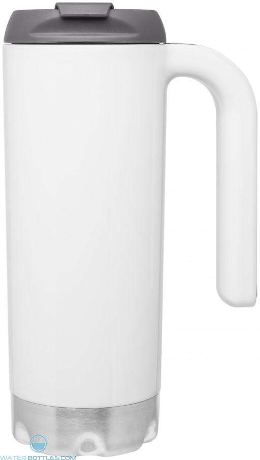 White 16.9 oz Atlas Acrylic Mugs