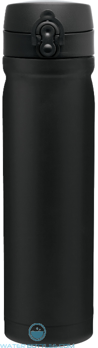 Black Vessel Stainless Steel Water Bottles | 15 oz - Matte Black