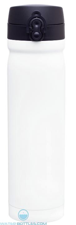 White Vessel Stainless Steel Water Bottles | 15 oz