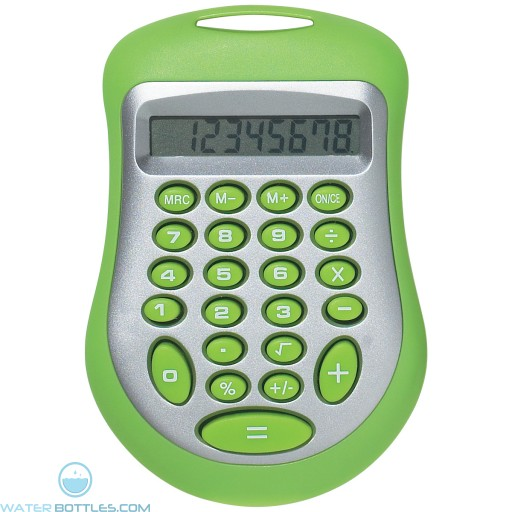 Branded Expo Calculator - Lime Green