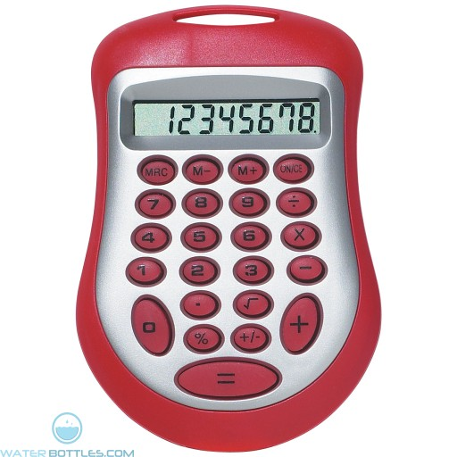 Branded Expo Calculator - Red