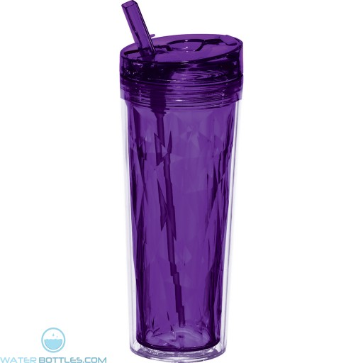 Personal Flip and Sip Tumblers | 18 oz - Purple