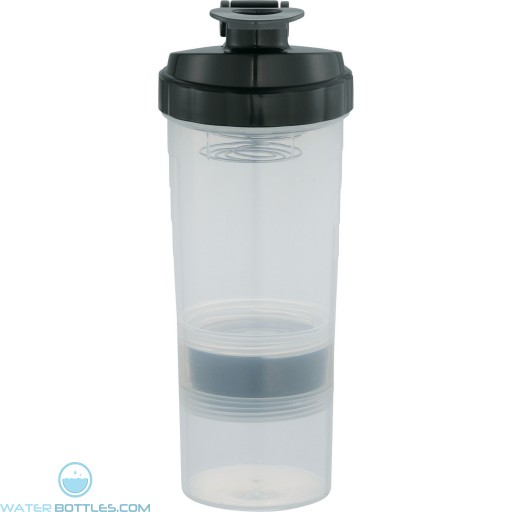 Personal Power House Protein Shaker   20 oz - Black