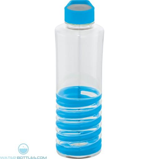 Personalized Spiral Bottles   24 oz - Blue