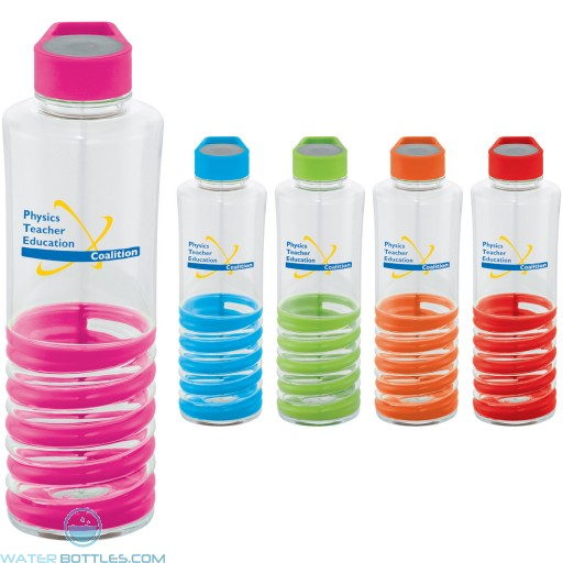 Personalized Water Bottles - Personalized Spiral Bottle | 24 oz