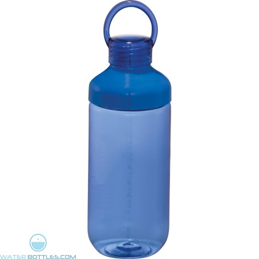 Branded Bubble Bottles | 22 oz - Blue