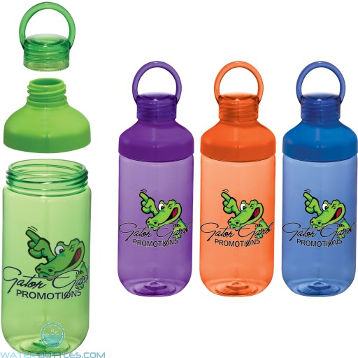 Personalized Water Bottles - Branded Bubble Bottle | 22 oz