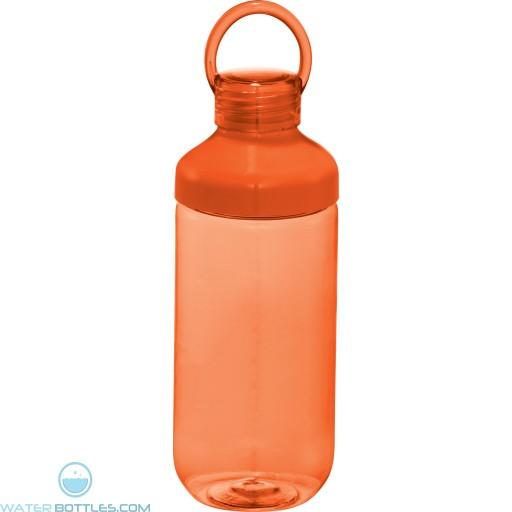 Branded Bubble Bottles | 22 oz - Orange