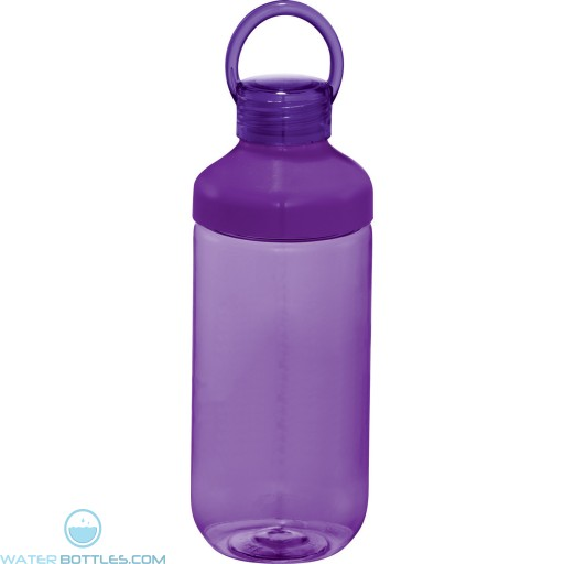 Branded Bubble Bottles | 22 oz - Purple