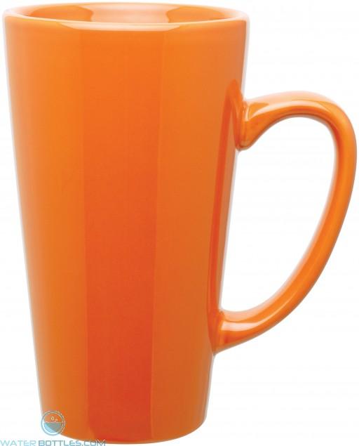 16 oz tall latte - glossy-orange