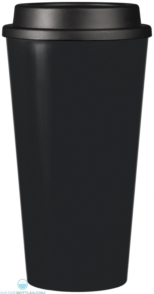Double Wall Reusable Cup2Go | 16 oz - Black