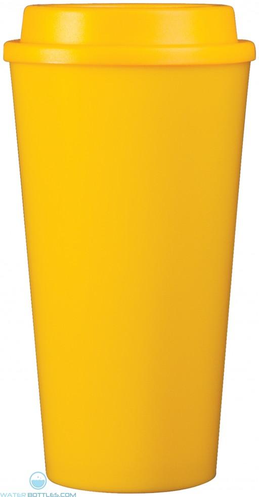 Double Wall Reusable Cup2Go | 16 oz - Yellow