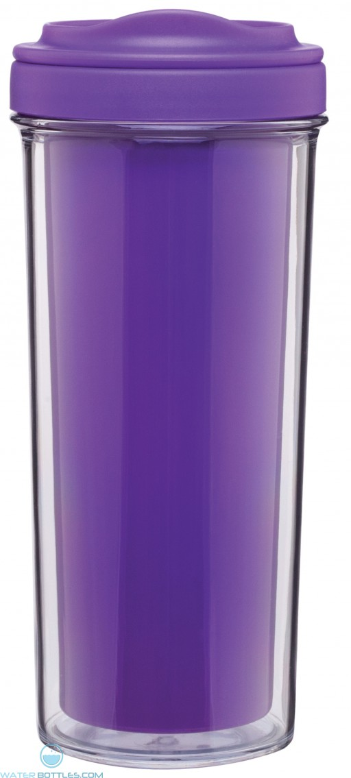Evo Double Wall Tumblers | 15 oz - Purple