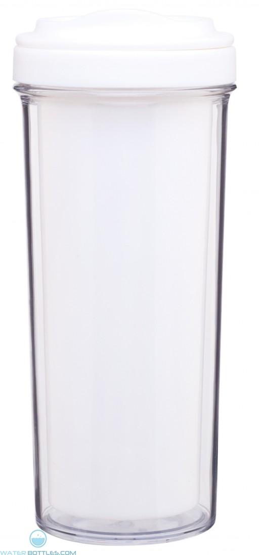 Evo Double Wall Tumblers   15 oz - White