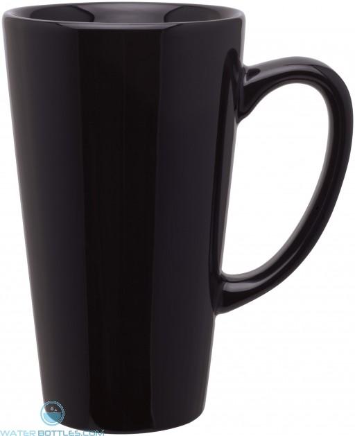 16 oz tall latte - glossy-black
