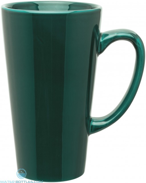 16 oz tall latte - glossy-green