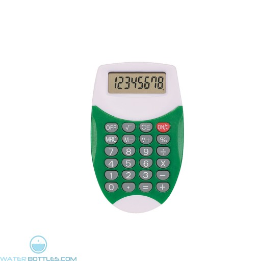 Promo Oval Calculator - Green