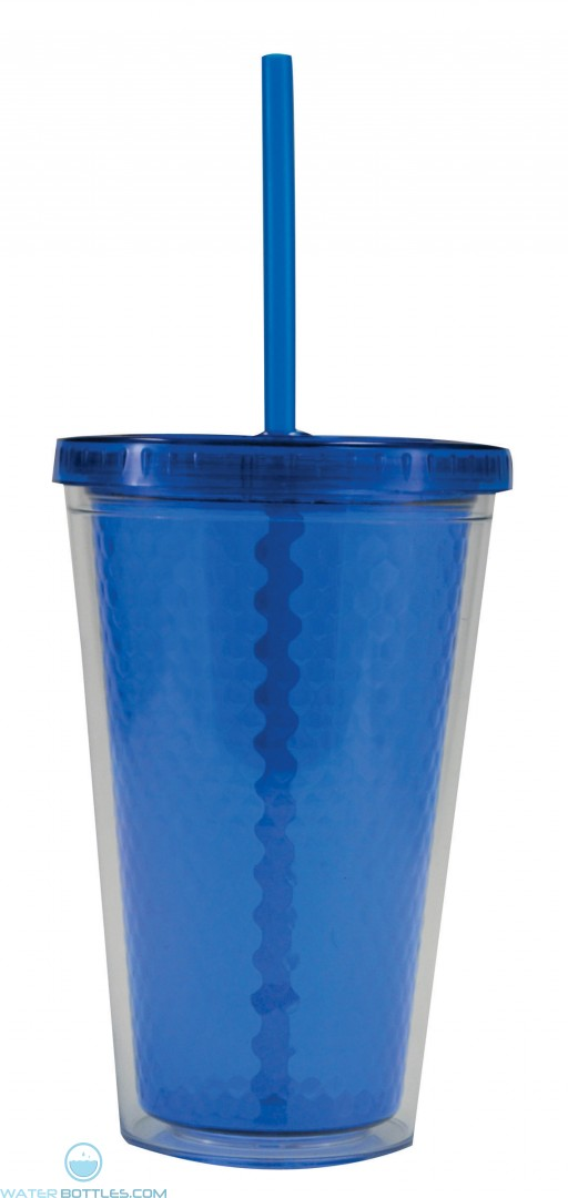 Freedom Facet Tumblers | 16 oz - Royal Blue