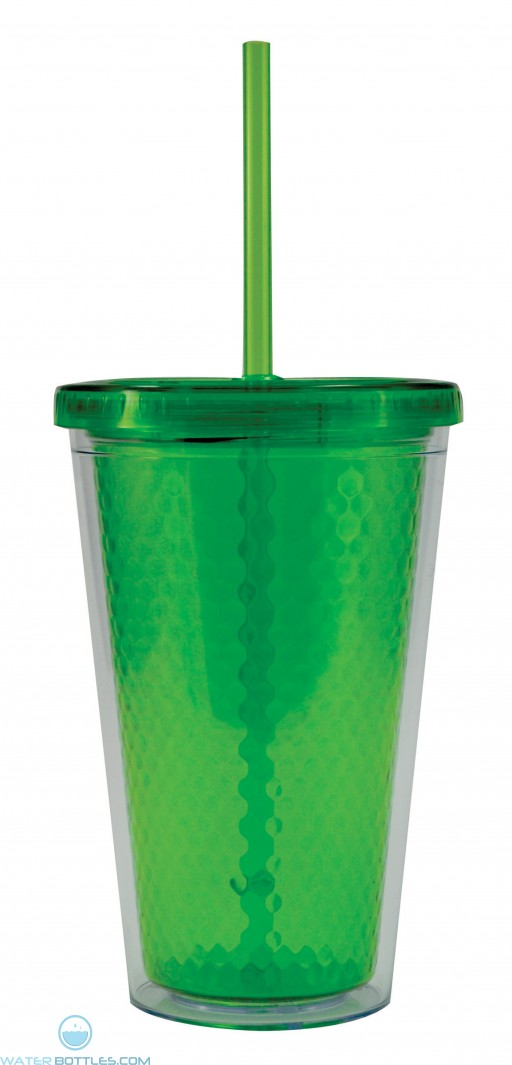 Freedom Facet Tumblers | 16 oz - Lime Green