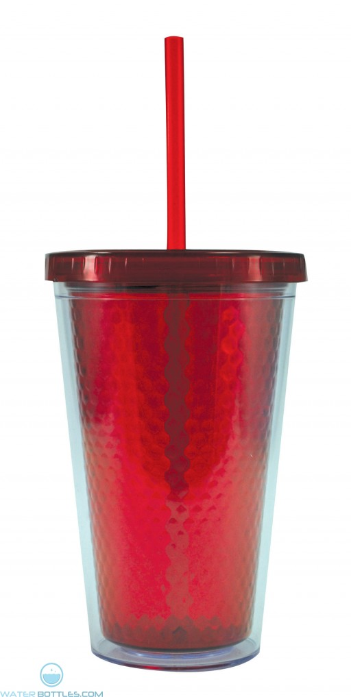 Freedom Facet Tumblers | 16 oz - Red