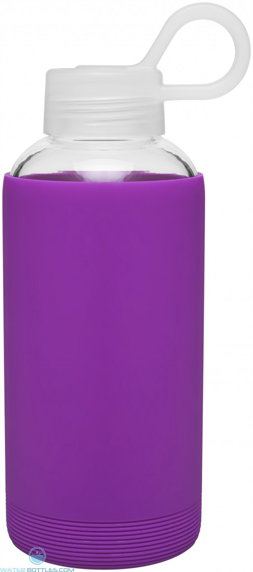 16 oz H2Go Karma Glass Bottle_Purple_Blank
